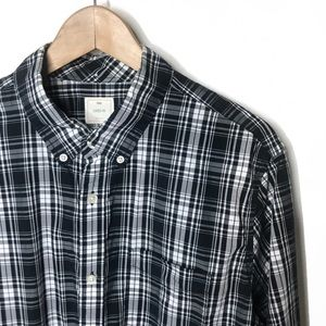 Gap Men's Plaid Button Down Large
